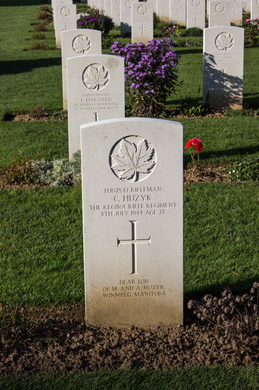 Canadian War Cemetery, Beny-sur-Mer