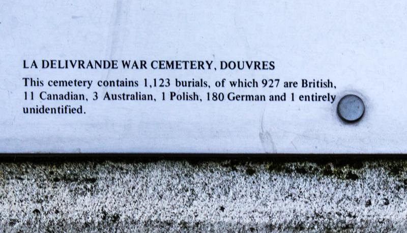 The British Cemetery at La Delivrande