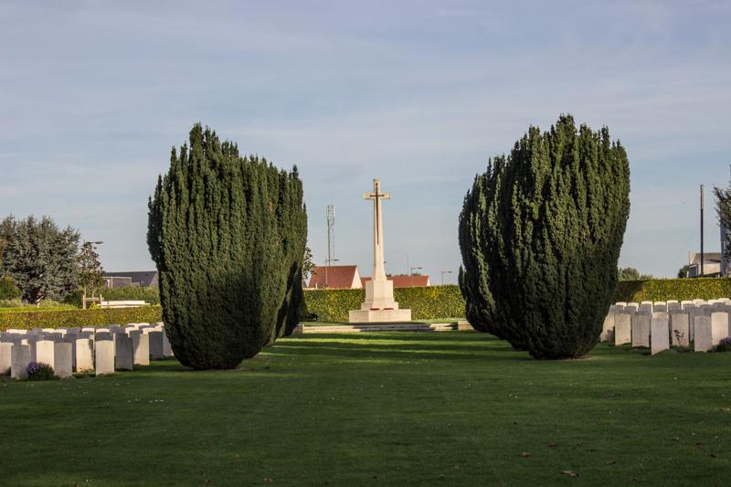 Le Delivrande WWII British Cemetery
