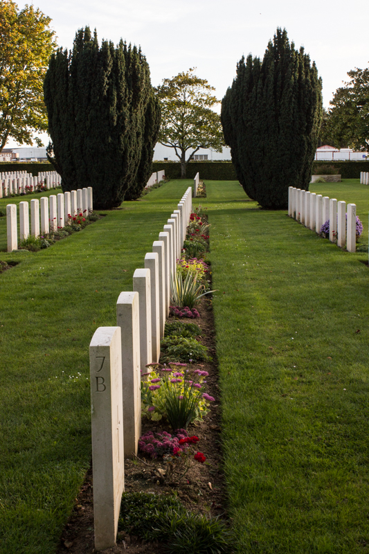 La Delivrande WWII British Cemetery