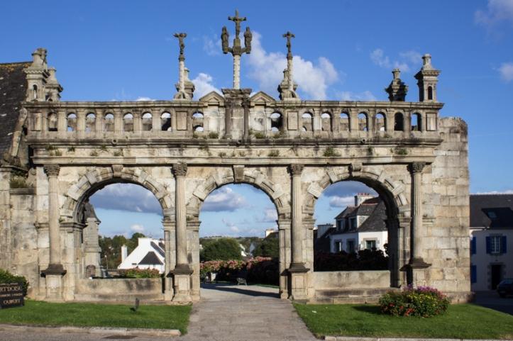 The Triumphal Arch, Sizun Church
