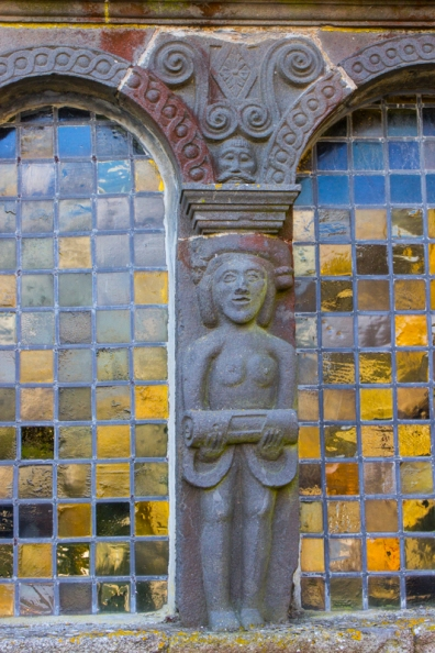 Carvings on the Ossuary, Sizun Church