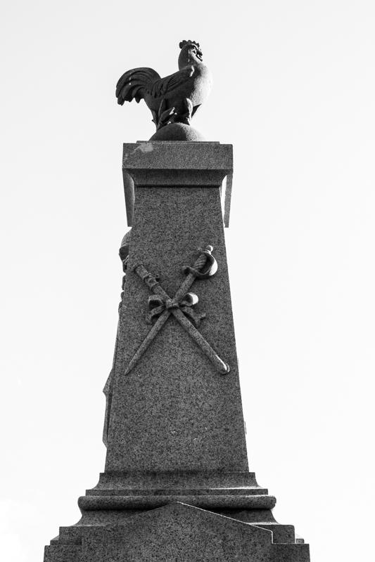 The War Memorial at Sizun Church