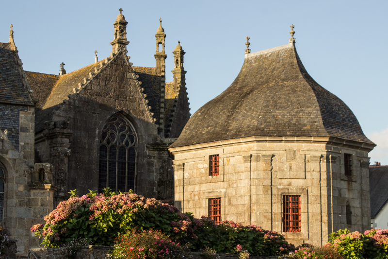 The Scacristy, St Suliauc in Sizun