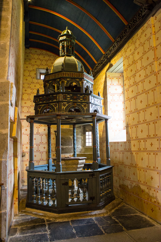 The Font, Sizun Church