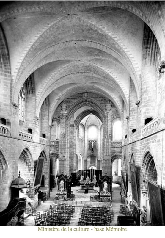 Interior of the Cathedral, Vannes, by Mederic Mieusement (www.culture.gouv.fr)