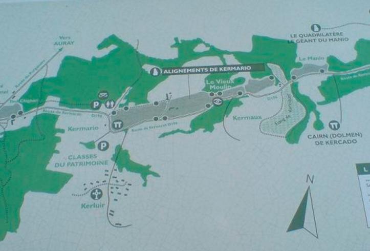 Kermario & Manio layout (http://www.hedgedruid.com/tag/menec/)