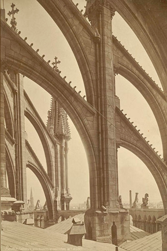 Rheims Cathedral, Mederic Mieusement (http://rmc.library.cornell.edu/adw/gravely/reims.html)