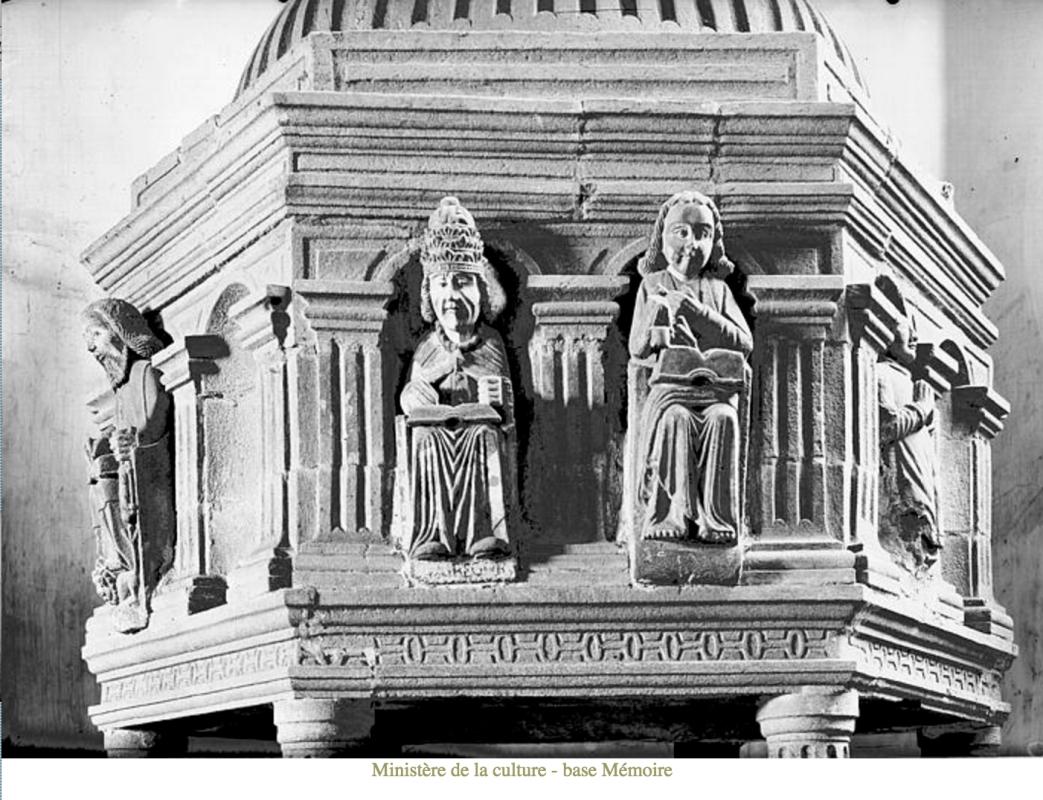The Font, Bodilis Church, Georges Esteve