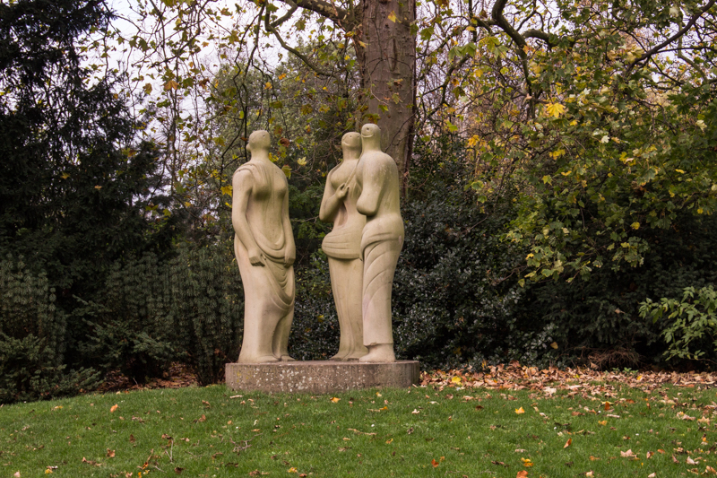 Three Standing Figures, Henry Moore, Battersea Park
