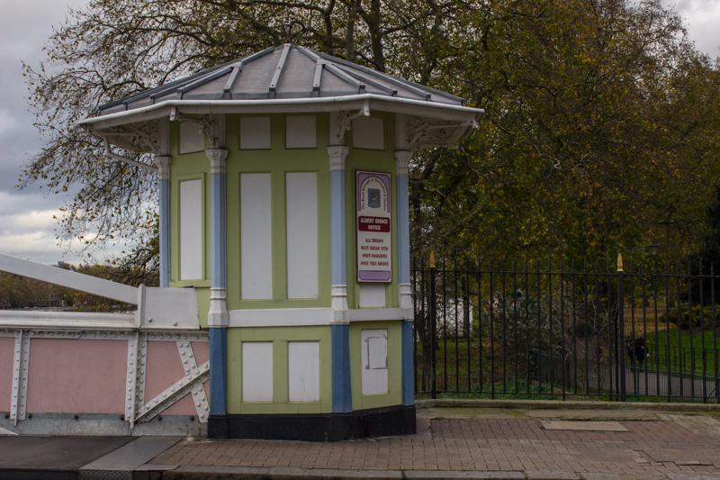 The Toll Booths on Albert Bridge today