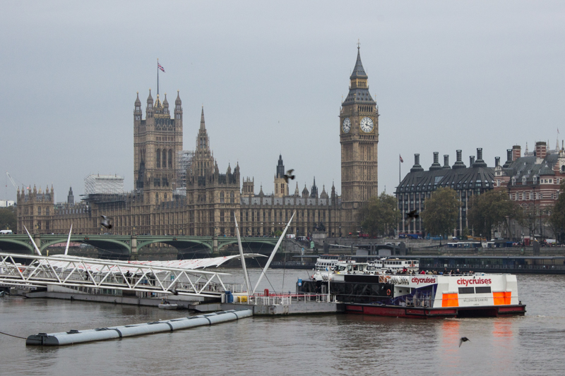 Westminster Bridge & the Houses of Parliament