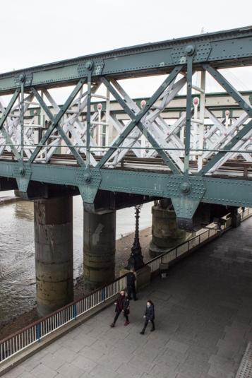 Hawkshaw's iron railway bridge