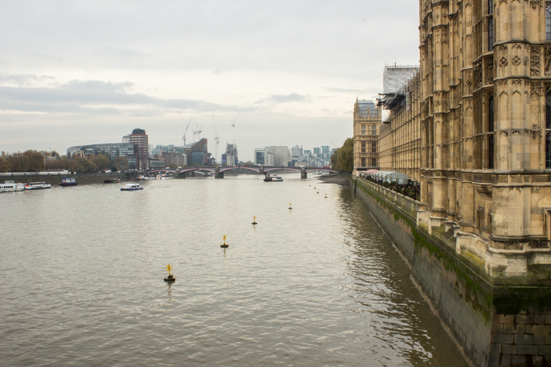 Lambeth Bridge from the Houses of Parliament