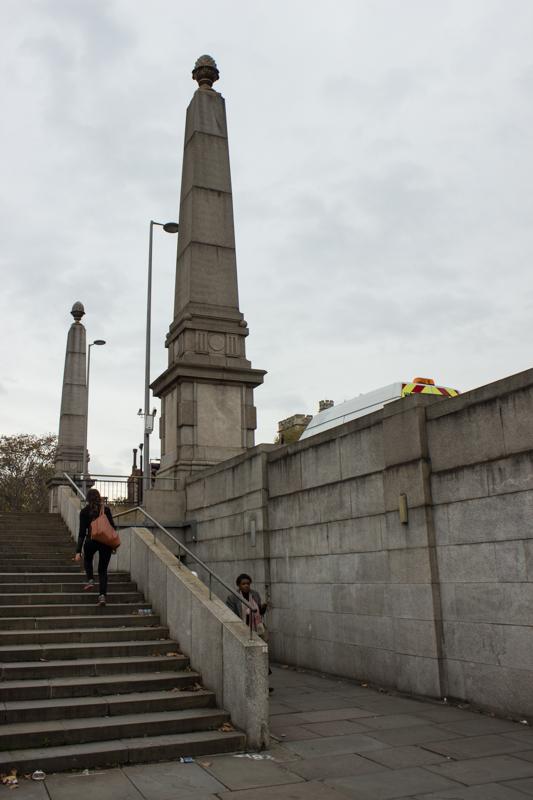 The Obelisks on Lambeth Bridge
