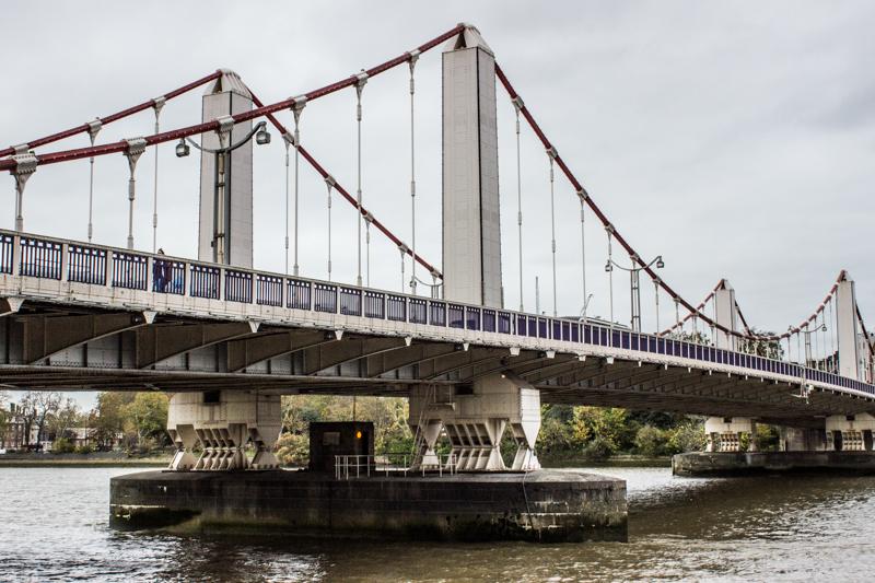 Chelsea Bridge today