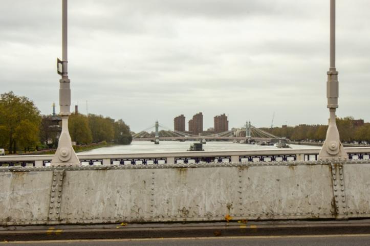 Looking upstream towards Albert Bridge