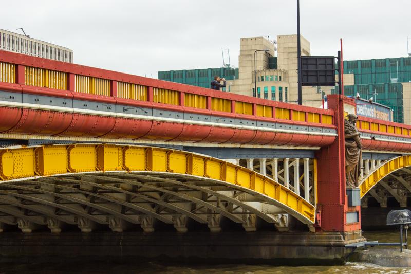 Vauxhall Bridge upstream