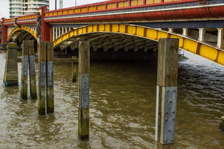 Vauxhall Bridge upstream