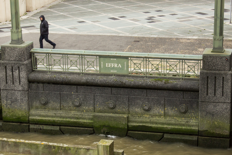 The River Effra at Vauxhall Bridge