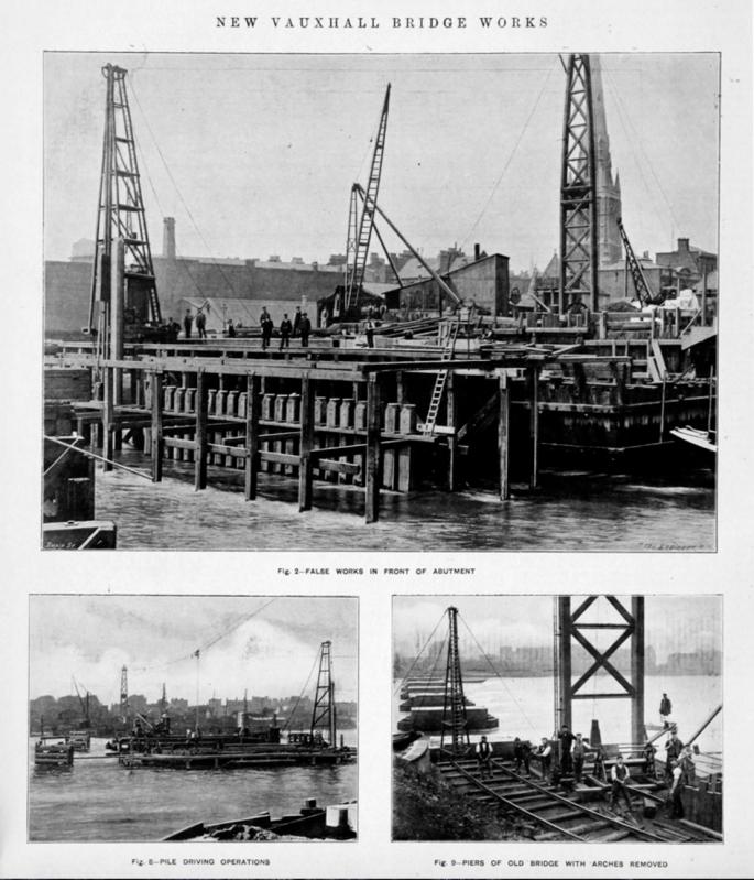 Building Vauxhall Bridge no.2 (http://www.gracesguide.co.uk/images/4/4c/Im1903EnV96-p230.jpg)
