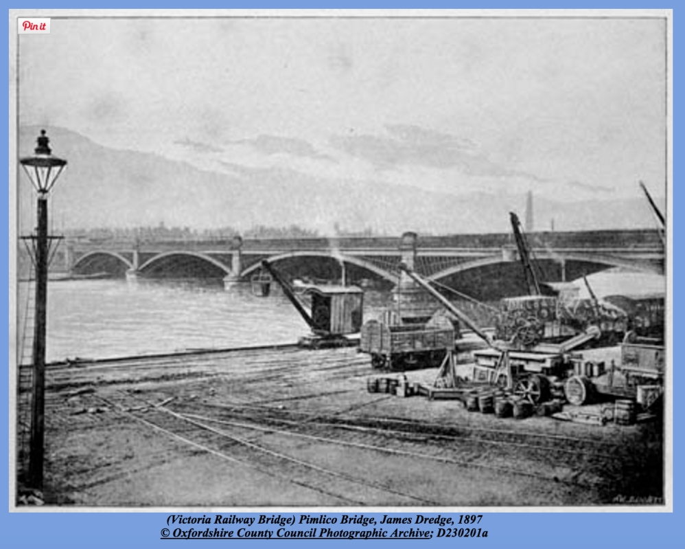 Victoria Railway Bridge, 1897 (http://thames.me.uk/s00160.htm#top)