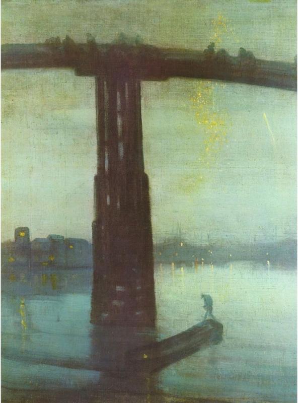 Whistler, Blue & Gold (Battersea Bridge) (https://commons.wikimedia.org/wiki/File:James_Abbot_McNeill_Whistler_006.jpg)