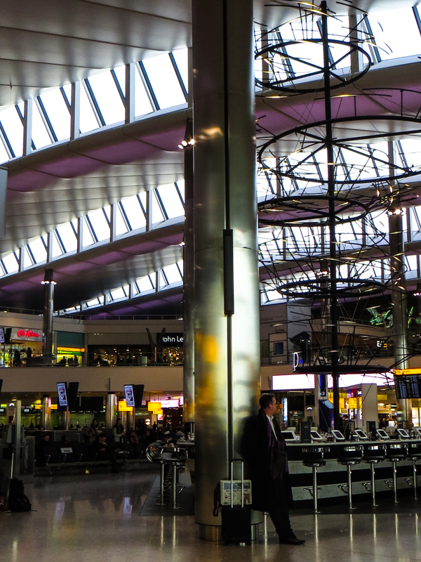 Terminal 2 at Heathrow