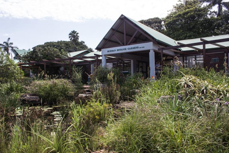 The Information Centre at Durban Botanic Gardens