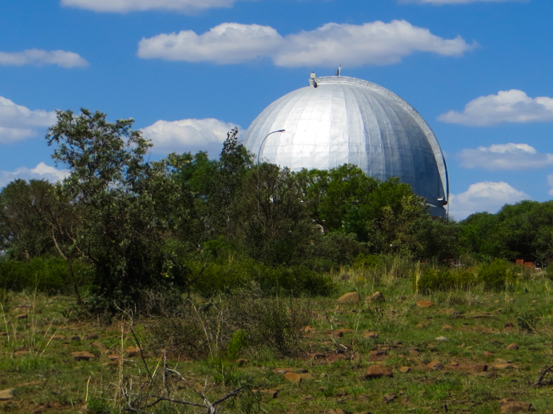 The Lamont-Hussey Observatory in the Franklin Nature Reserve, Bloemfontein