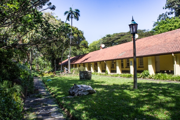 The barracks, the Old Fort, Durban