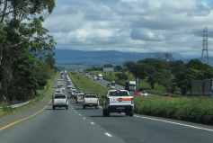 Driving to Pietermaritzburg