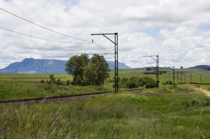 The railway at Van Reenen's