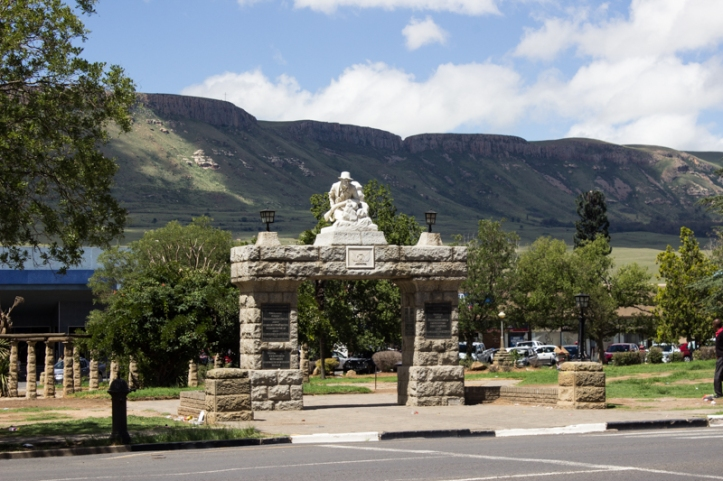 The War Memorial, Deborah Retief Park, Harrismith