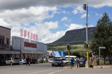 Harrismith shopping street