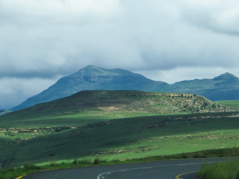 The mountains of The Golden Gate National Park
