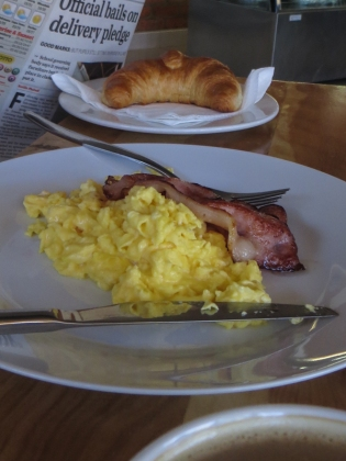 Breakfast at the Courtyard Bakery