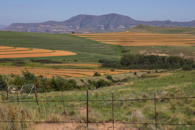 Surrender Hill, overlooking the Brandwater Basin, Eastern Free State