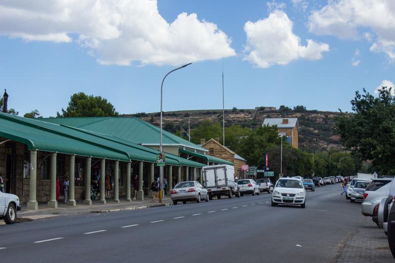 Ladybrand main street