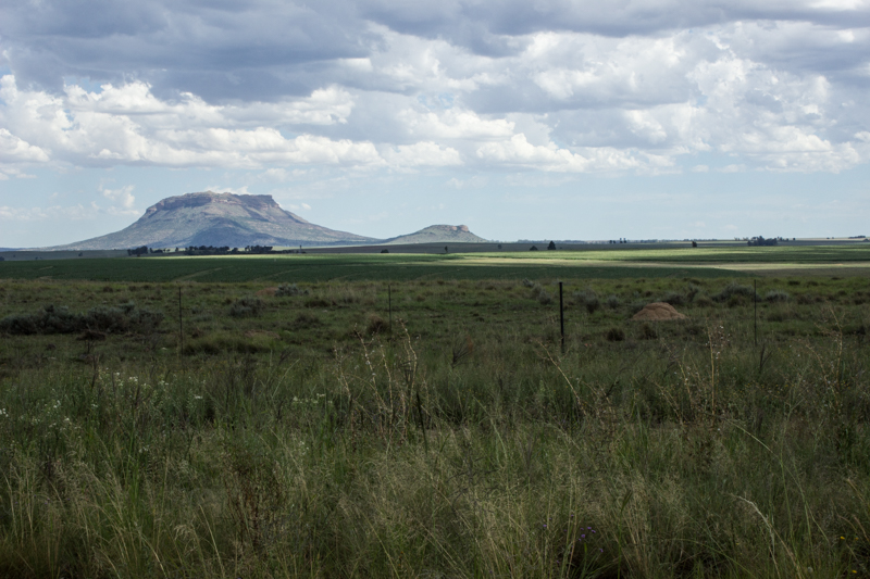 The countryside at Sannas Pos