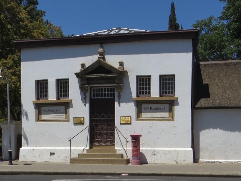 The First Raadsaal, Bloemfontein