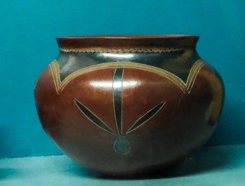 Basuto Pottery in the National Museum, Bloemfontein