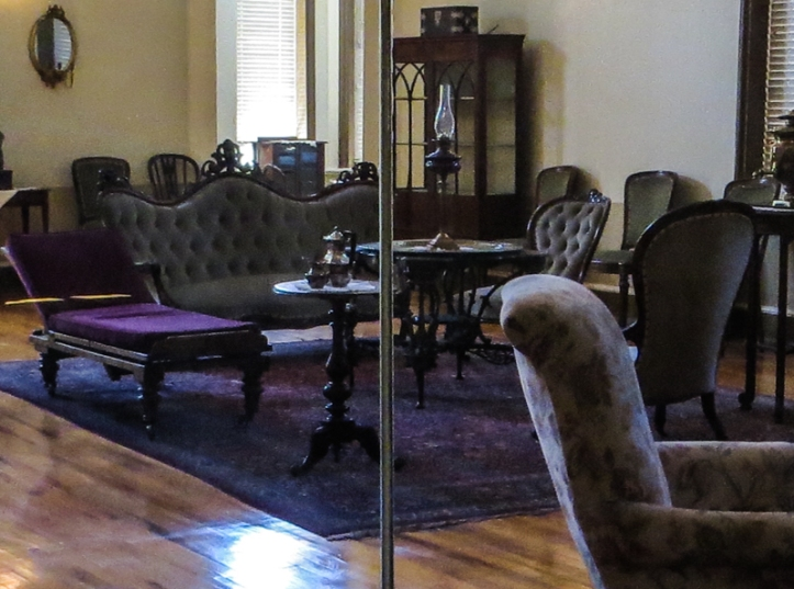 The living room on the ground floor of the Old Presidency, Bloemfontein