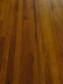 Yellowwood floors in the Old Presidency