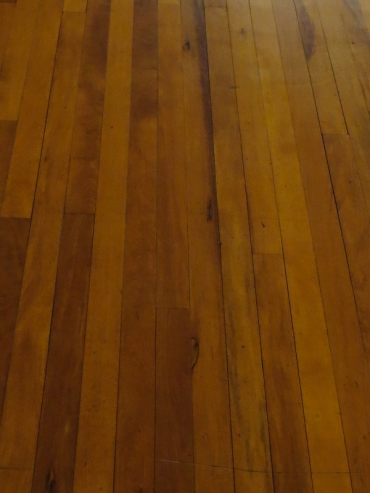 Yellowwood floors in the Old Presidency