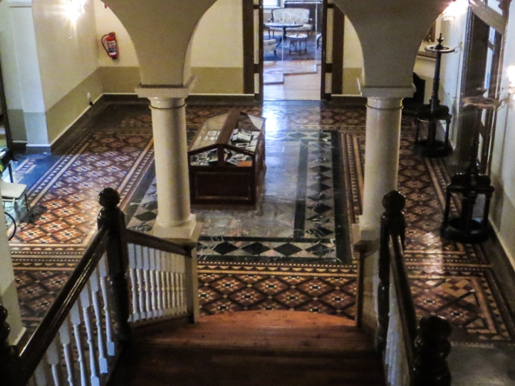 The entrance hall of the Old Presidency, Bloemfontein