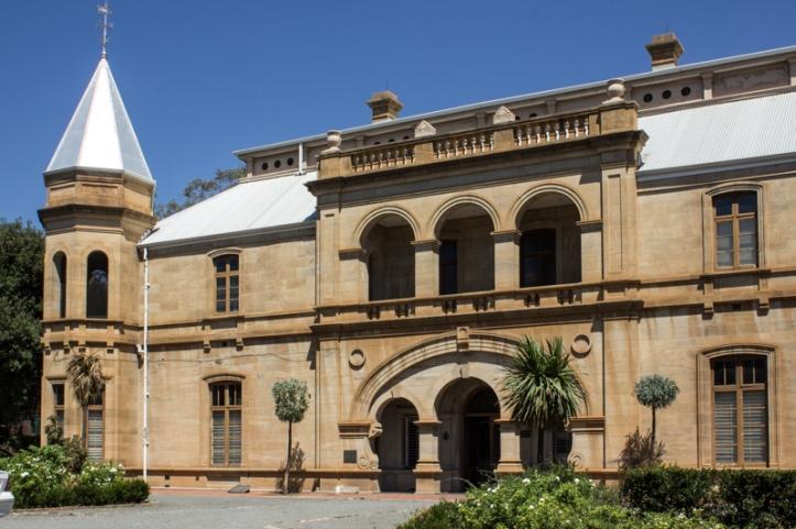 The Old Presidency, or Residency, Bloemfontein