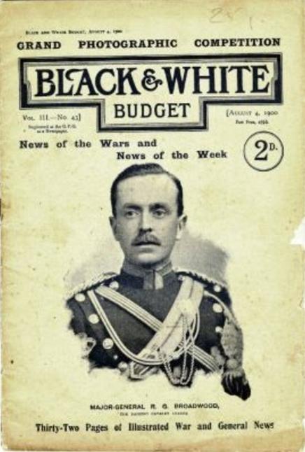 Brigadier General R G Broadwood (https://en.wikipedia.org/wiki/Robert_George_Broadwood)