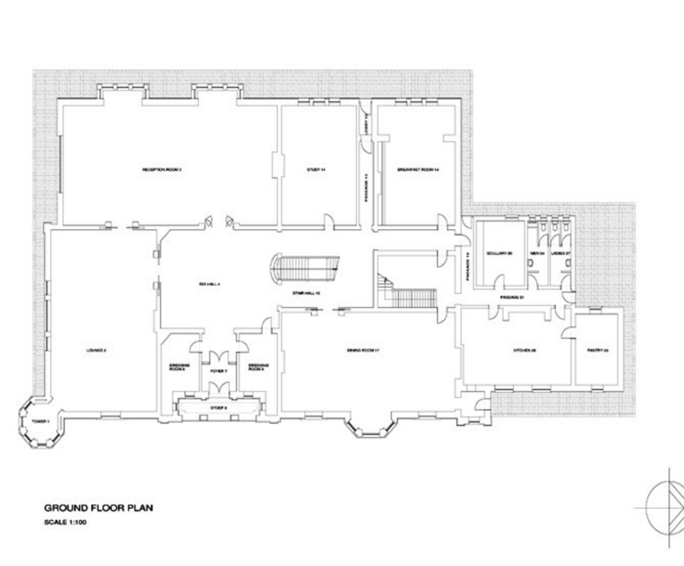 Old Presidency, ground floor plan (http://roodtarchitects.co.za/page/old-presidency)