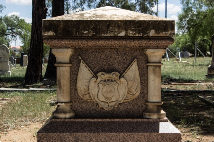 The grave of President Brand